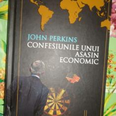 Confesiunile unui asasin economic 315pagini/cartonata- John Perkins