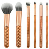 Cumpara ieftin Set pensule profesionale Royal Langnickel MODA Metallics Total Face Flip Kit, 7 piese, Rose Gold