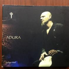 rudiger maul adura 2016 cd disc muzica world neo folk experimental percutie
