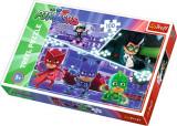 Puzzle clasic pentru copii cu eroii preferati - 100 piese, Eroi in Pijamale