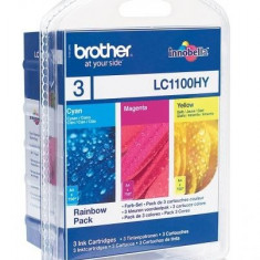 MULTIPACK CMY LC1100HYRBWBP ORIGINAL BROTHER MFC-6490CW,LC1100HYRBWBP