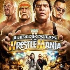 WWE Legends of Wrestlemania XB360