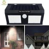Cumpara ieftin Lampa solara dubla de perete, cu senzor de miscare si 30 Led-uri