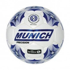 Minge de Fotbal Sală Munich Precision 62 Alb