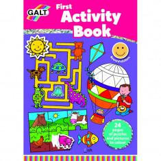 Carte Prima carte cu activitati Galt, 24 pagini, 5 ani+