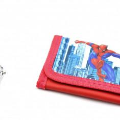Set ceas pentru copii cu Spiderman si portofel cadou - MK03R