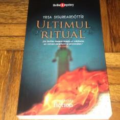 Yrsa Sigurdardottir - Ultimul ritual (noua)
