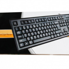 Tastatura PC A4tech KR85 USB Negru