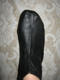 Cumpara ieftin Sosete ghetuta piele naturala noi Mar 41, Negru