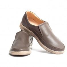 Pantofi Casual barbati din piele VIC910, 39 - 44