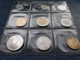 Set monetarie 1, 2, 5, 10, 20, 50, 100, 200, 500 Lire 1986 San Marino UNC
