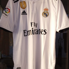 Tricou Real Madrid 2019 (embleme brodate)