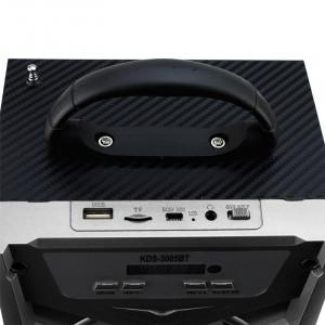Radio FM Bluetooth, USB, slot SD, MP3 player, LED multicolor, telecomanda