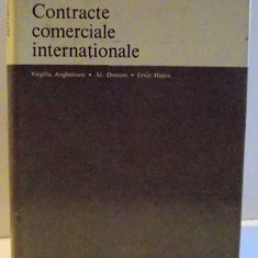 CONTRACTE COMERCIALE INTERNATIONALE , 1980