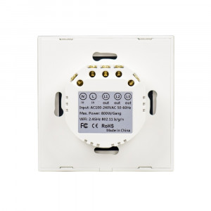 Aproape nou: Intrerupator inteligent triplu PNI SmartHome WS333 pentru control lumi