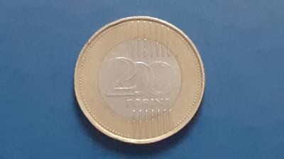 Ungaria , 200 Forint 2009 foto