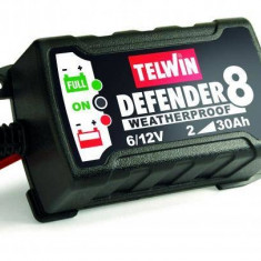 Redresor automat Telwin Defender 8 6V/12V Negru