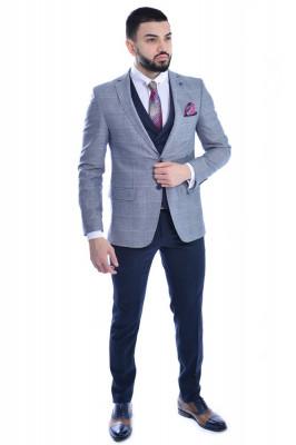 Costum barbat gri foto