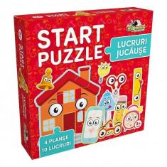 Puzzle Start 4 in 1 - Lucruri jucause