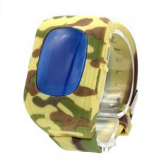 Wonlex Q50 Ceas smartwatch copii cu functie telefon, buton SOS si monitorizare spion (+ bratara fitness CrabTECH™)