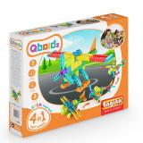 Set piese lego 4 modele, prescolari, Qboidz Avion Acrobatic