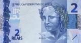 BRAZILIA █ bancnota █ 2 Reais █ 2010 (2017) █ P-252A █ UNC █ necirculata
