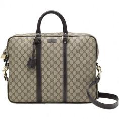 Supreme Canvas Briefcase, Gucci