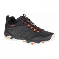 Pantofi Bărbați casual impermeabili Merrell Moab FST Gore-Tex Gore-tex Vibram, 45, Negru