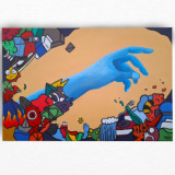 Tablou, Pictura Culori Acrilice