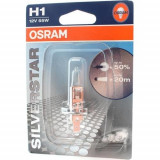Bec auto OSRAM H1 12V 55W SILVERSTAR, blister