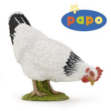 Figurina Papo -Gaina alba Peckin