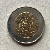Cumpara ieftin x346 Portugalia 100 escudos 1999 UNICEF   cu eroare