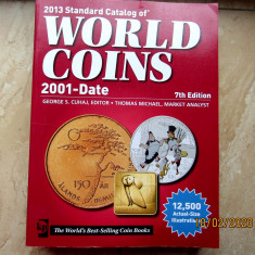 Catalog numismatic-Standard Catalog of World Coins.910 pag.