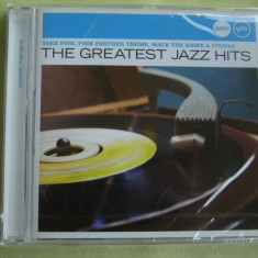 THE GREATEST JAZZ HITS - C D Original NOU (Sigilat), CD