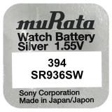 Baterie de ceas Murata 394 SR936SW AG9 1.55V 1 Bucata /Set