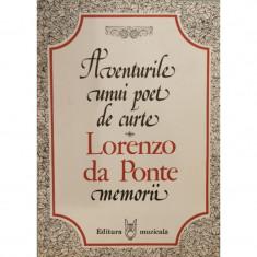 Aventurile unui poet de curte - Lorenzo da Ponte