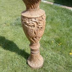 Vaza /veche/lemn/