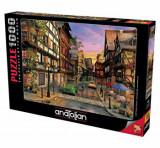 Cumpara ieftin Puzzle Anatolian Colmar Street, 1000 piese