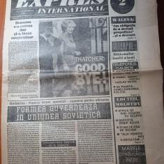ziarul expres international 13-19 decembrie 1990-anul 1,nr. 2 al ziarului