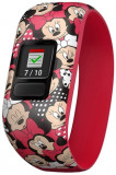 Bratara Fitness Garmin Vivofit Jr.2, Bratara elastica, Minnie Mouse, Bluetooth (Rosu)