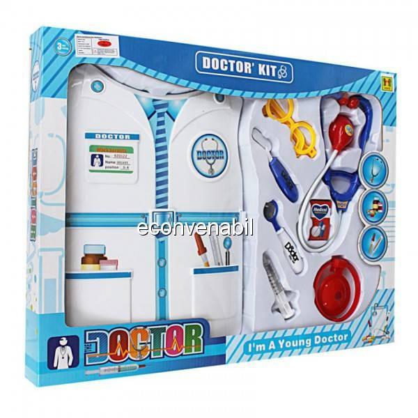 Set Jucarie Instrumente Medicale pentru Copii Doctor's Kit 9202