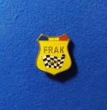 INSIGNA AUTOMOBIL CLUBUL ROMAN - FRAK - ACR - PIONIERI - A.C.R. - F.R.A.K.- AUTO