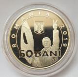 Moneda 50 bani 2019 proof Revolutia