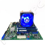 OFERTA! Kit Intel DQ67SW + i5 2500 3.3GHz + 16GB DDR3 + Cooler LED Nou USB 3.0, Pentru INTEL, 1155, DDR 3