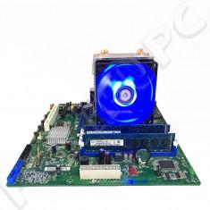OFERTA! Kit Intel DQ67SW + i5 2500 3.3GHz + 16GB DDR3 + Cooler LED Nou USB 3.0, Pentru INTEL, LGA 1155