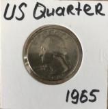 QUARTER DOLLAR 1958 America, America de Nord