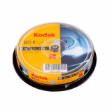 Blu-ray Kodak, printabil full surface, 25 GB, cake 10 discuri