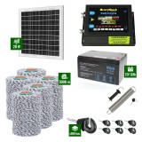 Pachet Gard electric 6,6j putere cu Panou Solar si 5000m de fir 120Kg