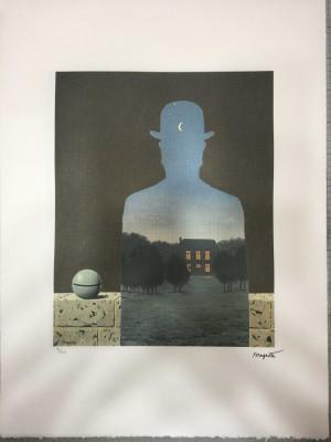 Litografie Rene Magritte 50x70cm foto