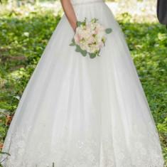 Rochie de mireasa White Lady stil printesa, Rochii de mireasa printesa